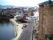 Exeter Quay, Warehouses in Foreground